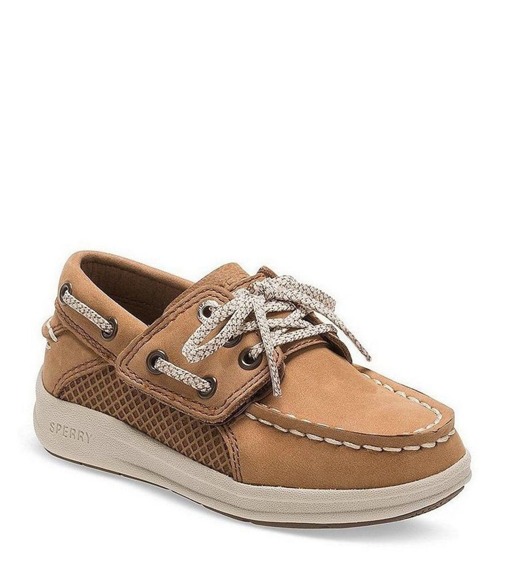 Sperry Boys' Gamefish Jr Boat Shoes - Dark Tan 5W Infant ...