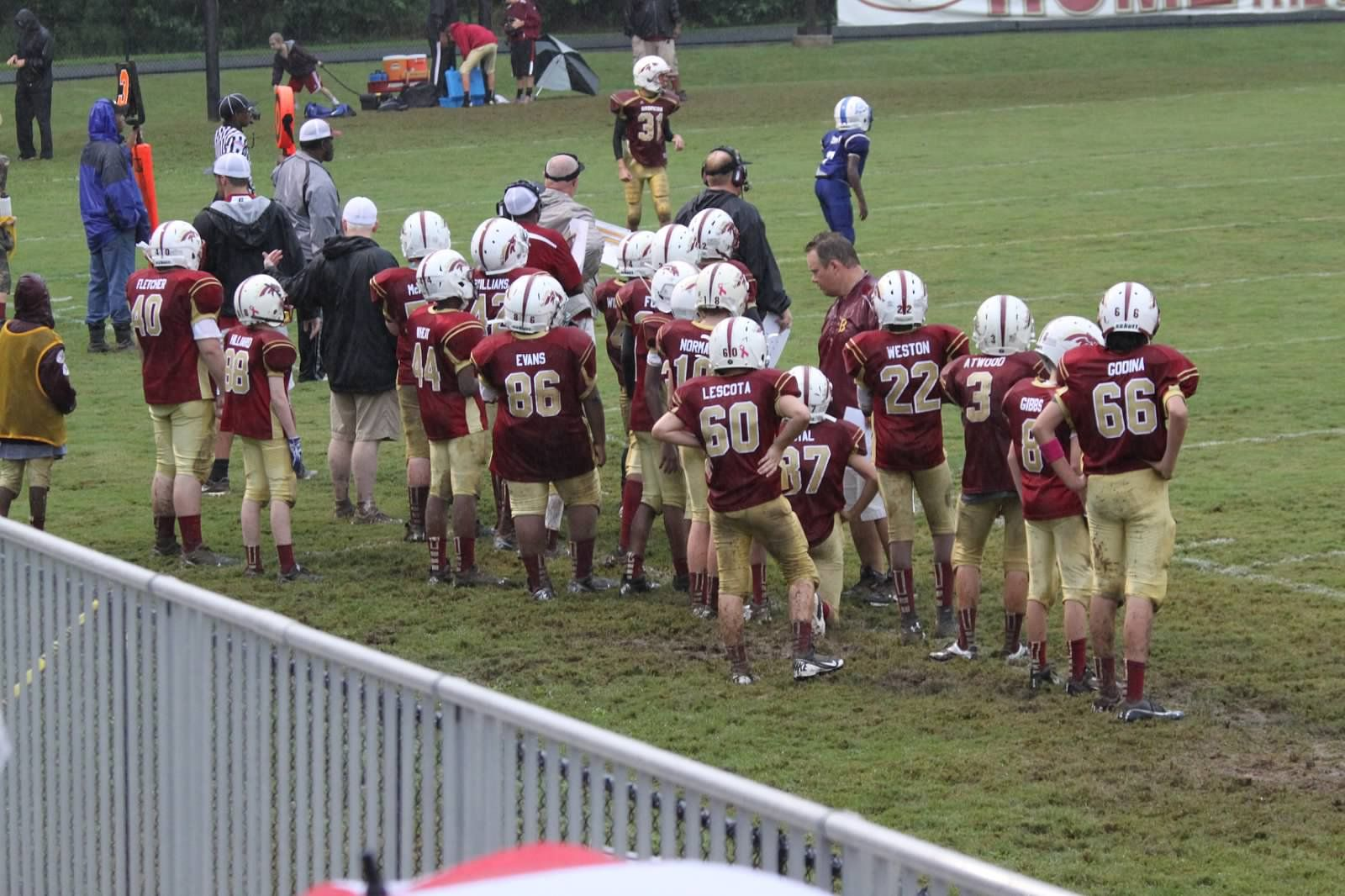 Muddy Broncos What A Mess Youth Sports Jordan Parks Sports