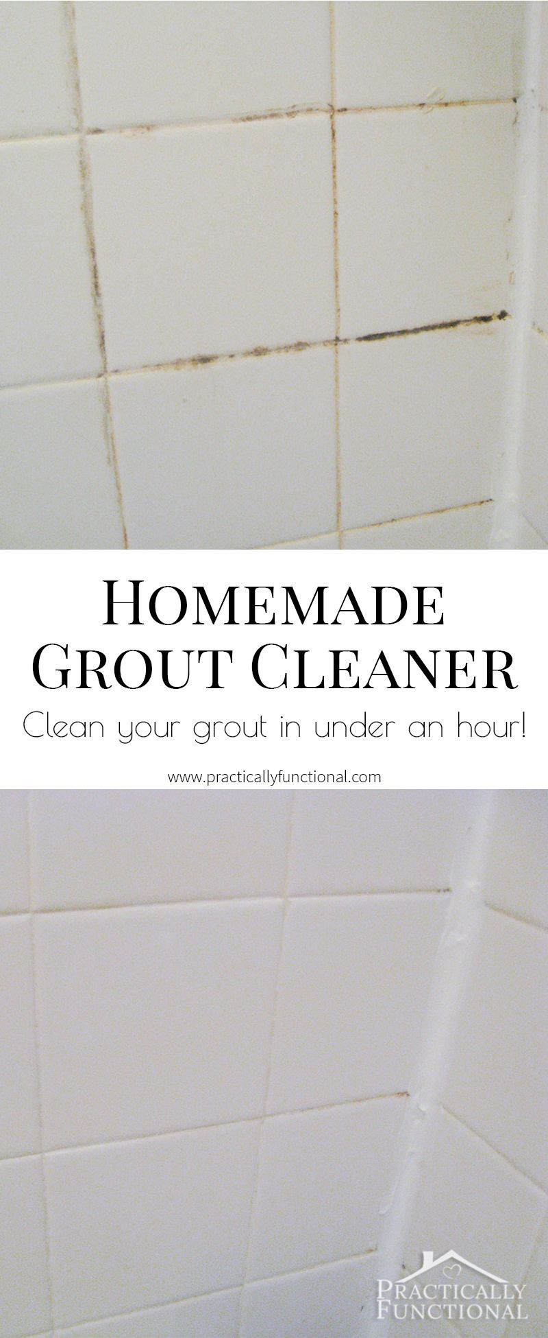 How To Clean Grout With A Homemade Grout Cleaner | Grout, Baking Soda And  Soda