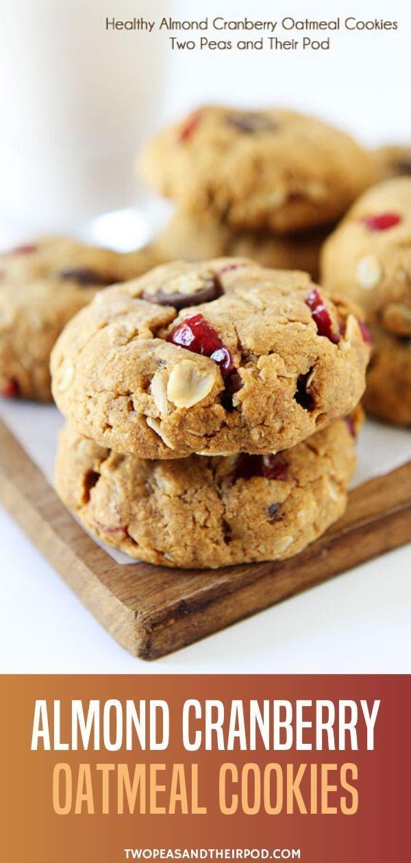 Oatmeal Cranberry Cookies   TasteSpotting