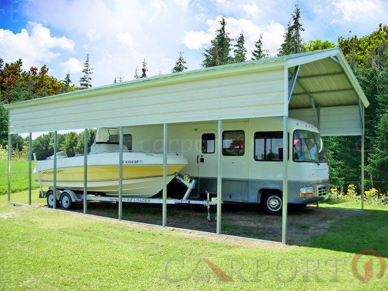 Metal RV Covers Categories Carport1 Free