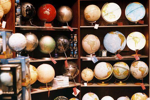 Globes..globes..globes...!