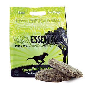 Vital Essentials Dog Food Recall of 2015 Beef tripe, Raw