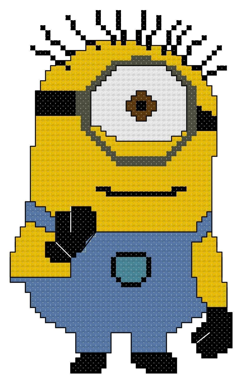 Details About Counted Cross Stitch Pattern Despicable Me