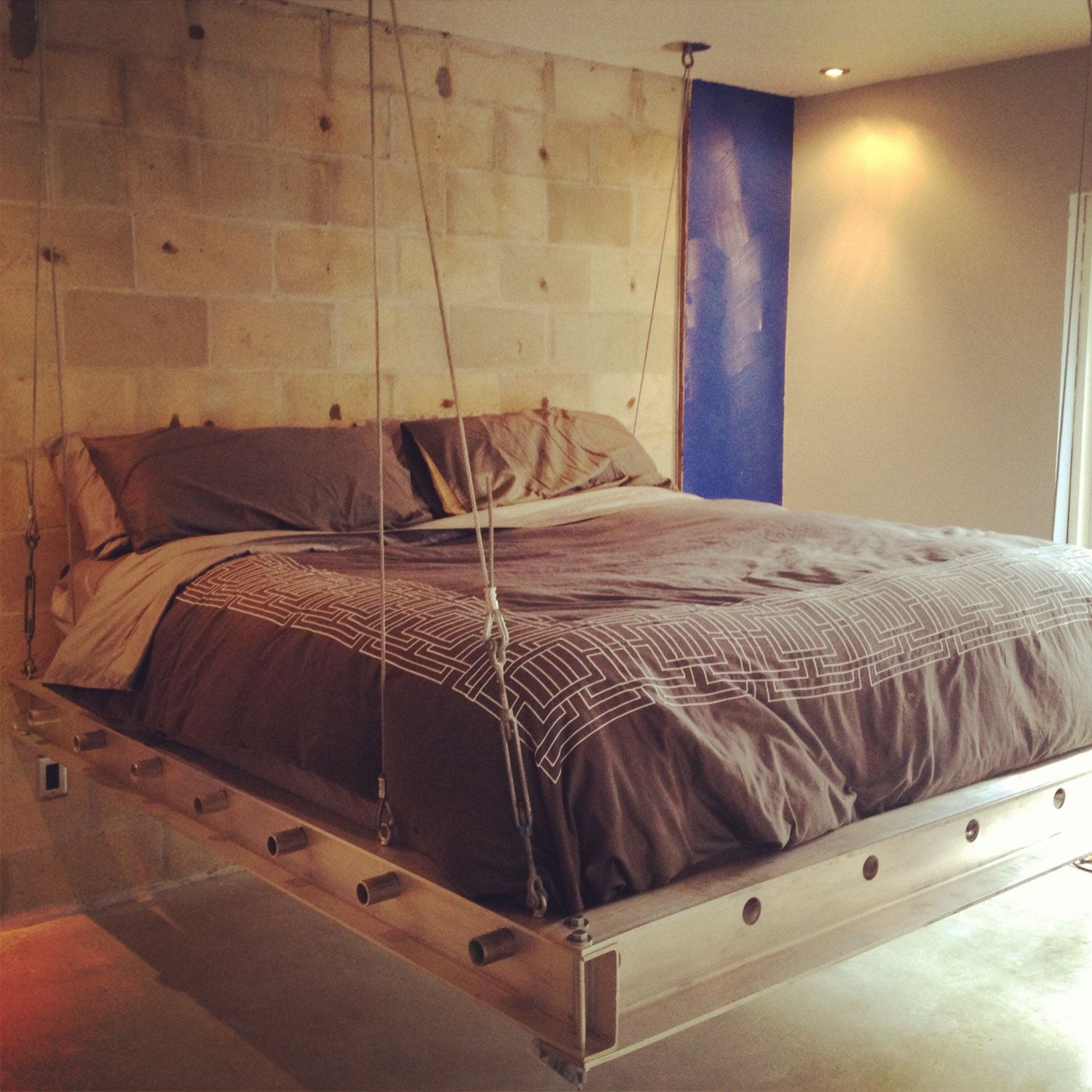 Pin By Joy Witte On Bedroom Home Decor Floating Bed Bed