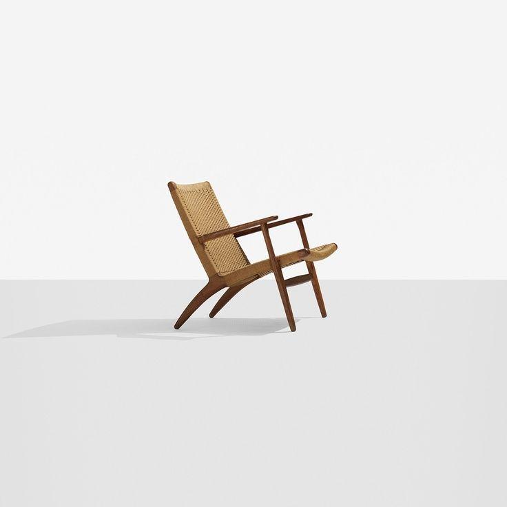 Hans Wegner Lounge Chair Scandinavian Design