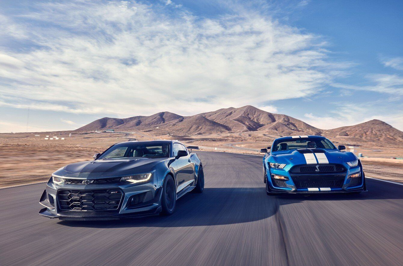 2020 Ford Mustang Shelby Gt500 Vs 2019 Chevrolet Camaro Zl1 1le Car And Driver Stangbangers In 2020 Chevrolet Camaro Zl1 Ford Mustang Shelby Gt500 Camaro Zl1
