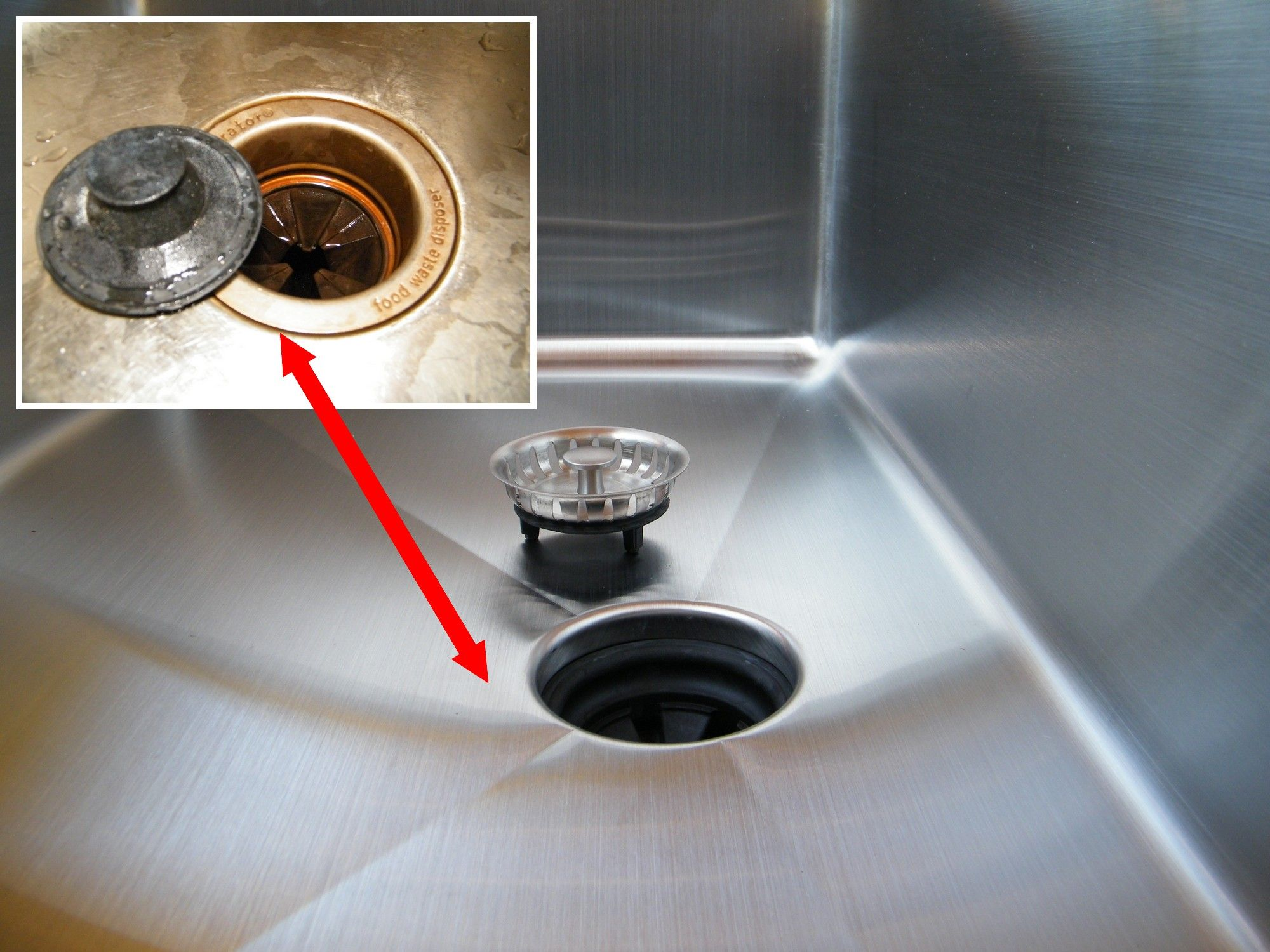 The UltraClean Sink Drain Has Been Formed Into Eliminating