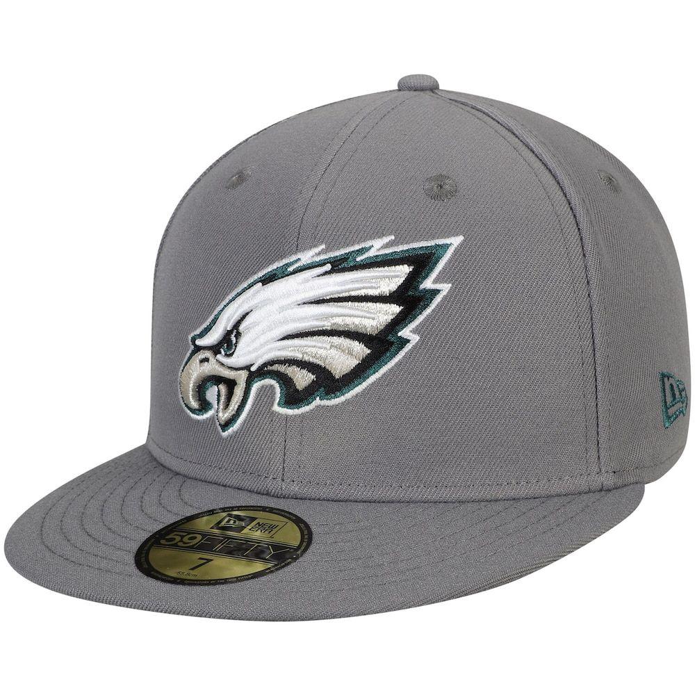 GRAPHITE Philadelphia Eagles New Era 59Fifty Cap