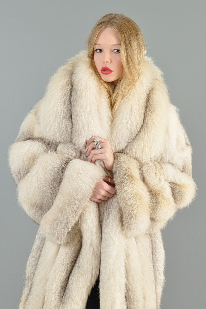 Claude Montana Shadow Fox Fur Coat | BUSTOWN MODERN | acb ...