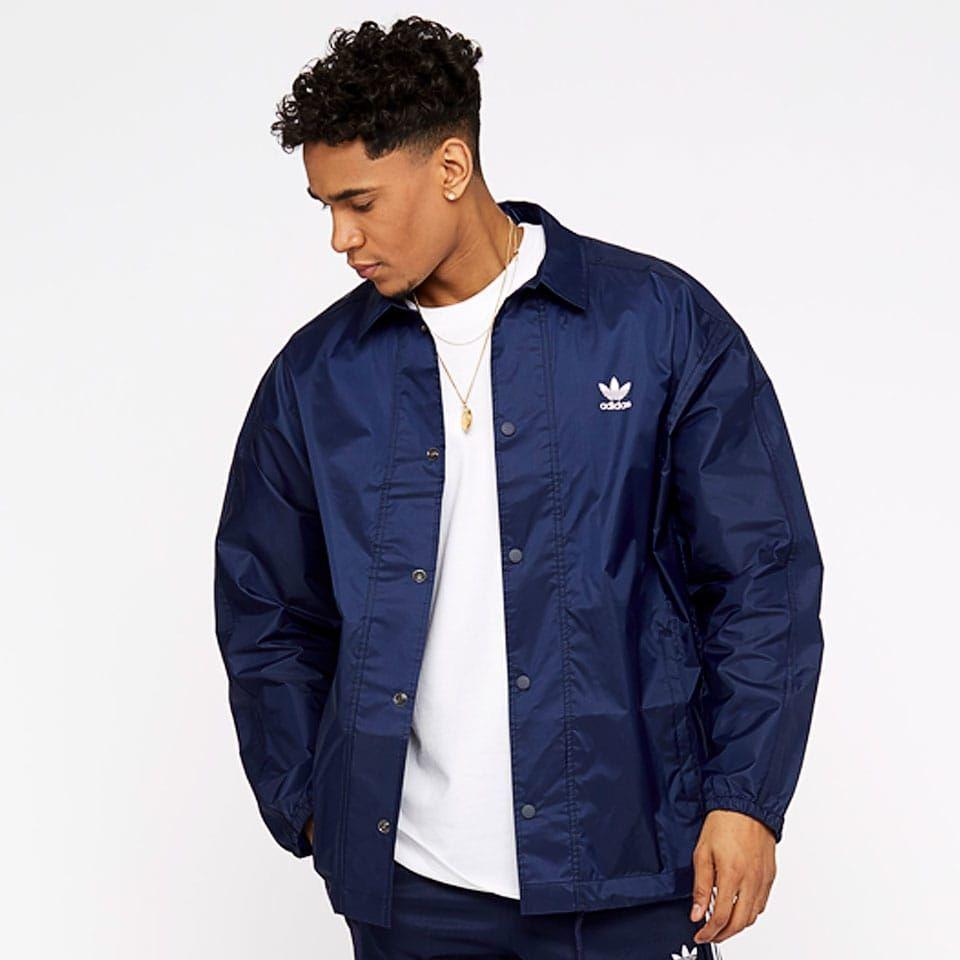 adidas Originals Trefoil Coach Jacket Collegiate Navy | Jacken