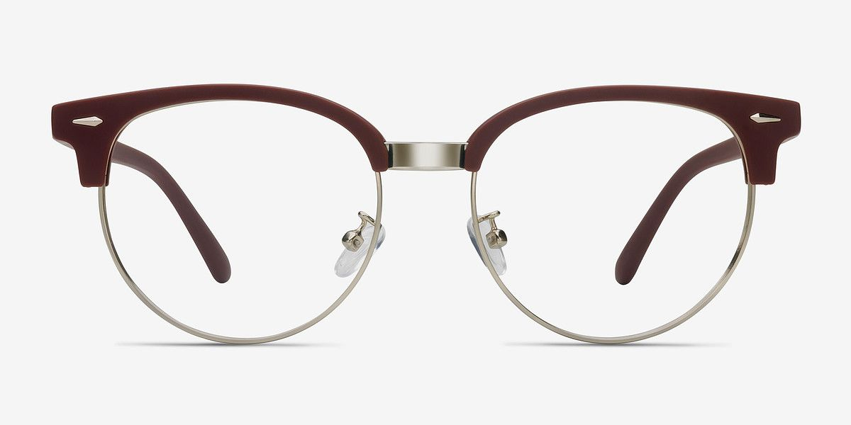 eaf4ad74677 Narita Matte Burgundy Metal  22 Eyeglasses from EyeBuyDirect. Discover exceptional  style
