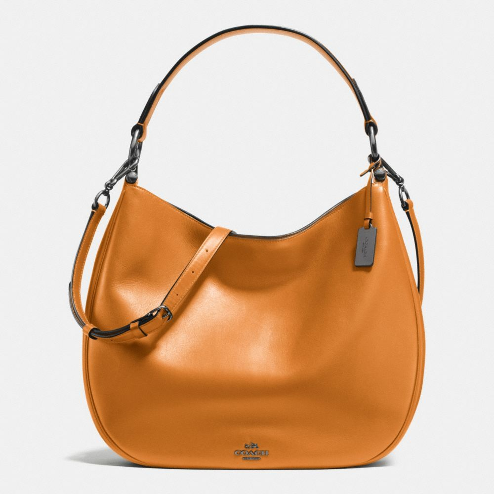 04ba4ea5dc Coach Nomad Hobo in Burnished Glovetanned Leather - Alternate View ...