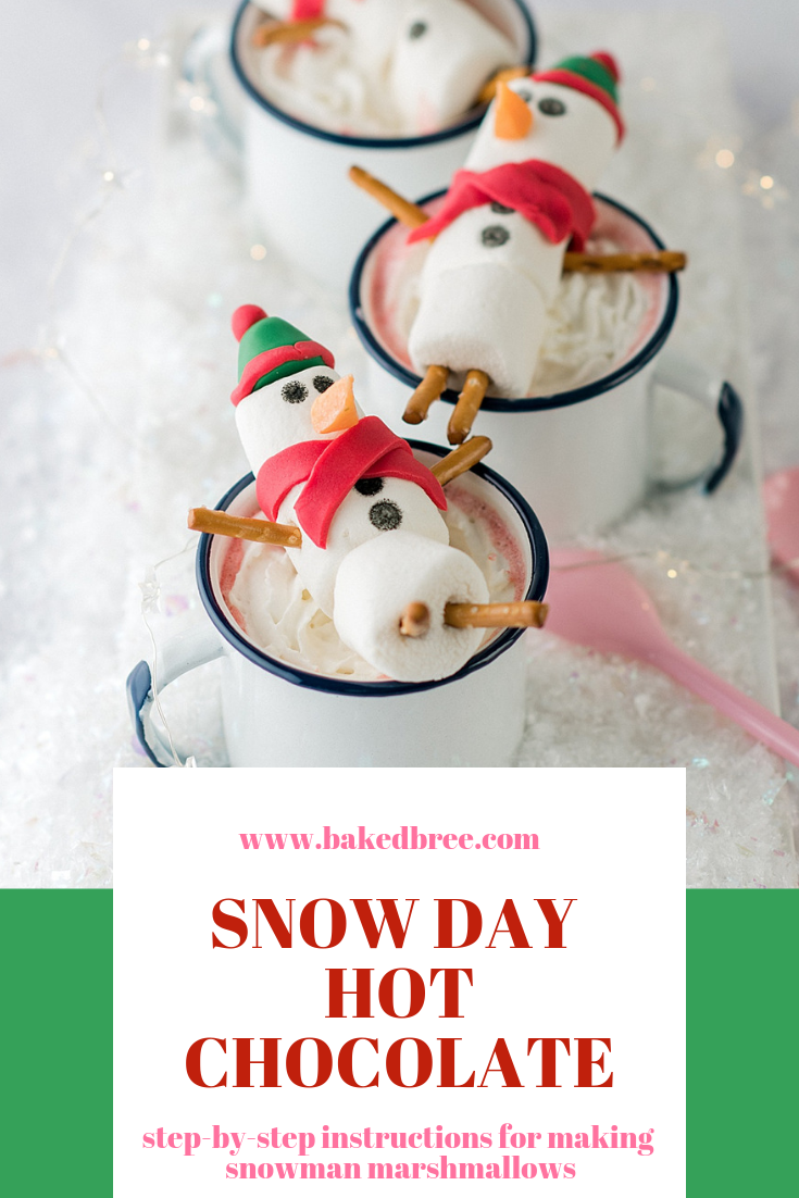 Snowman Marshmallow Hot Chocolate Toppers Chocolate Toppers Marshmallow Snowman Hot Chocolate