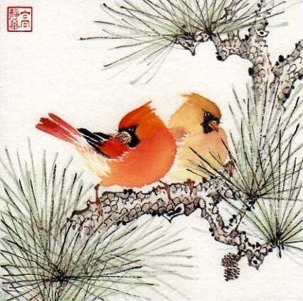 Google Image Result for http://yourdecoratinghotline.com/wp-content/uploads/2010/10/bird-art-by-jinghua_gao_dalia-dailypainters.jpg