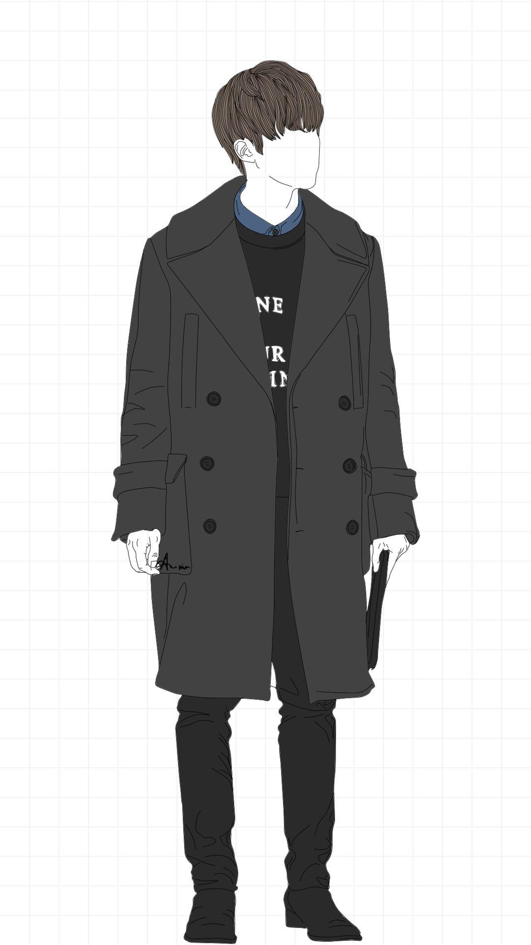 Jin Simple Fanart Bts Drawings Bts Fan Art