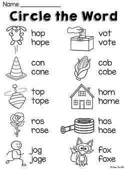Long O Worksheets and Activities {NO PREP!} | Long Vowels with ...