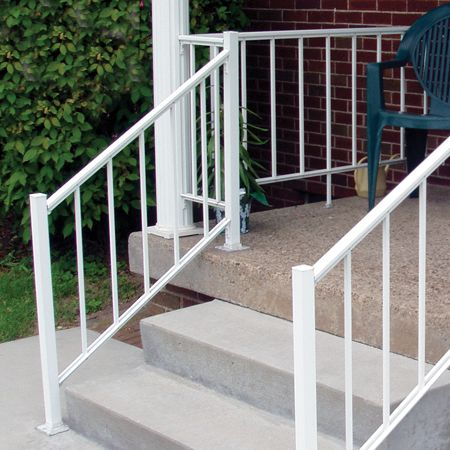 Aluminum Porch And Deck Railing Fence Center Porch Railing   Aluminium Handrails For Stairs   Outdoor   Plastic   Movable   Aluminum Oval Shaped   Vertical 6Mm Ss Rope Glass