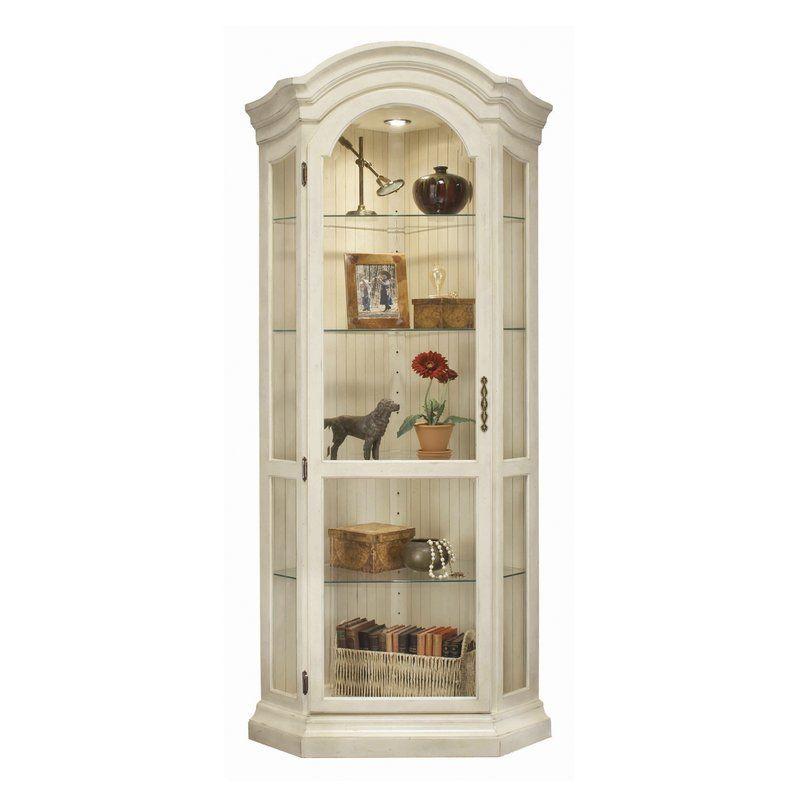 Shelia Corner Curio Cabinet Corner Curio Corner Display Cabinet