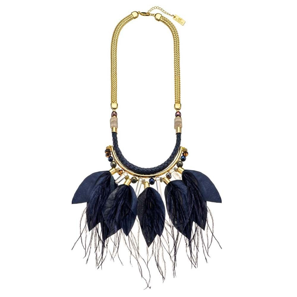 Nat Kent Midnight River Gold Necklace