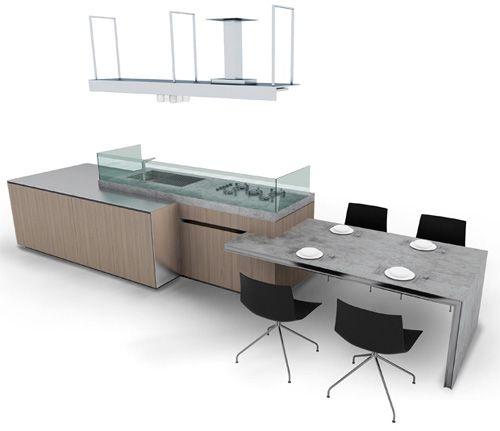 Sustainable Kitchen Design by Ernestomeda - Icon   Interiors ...