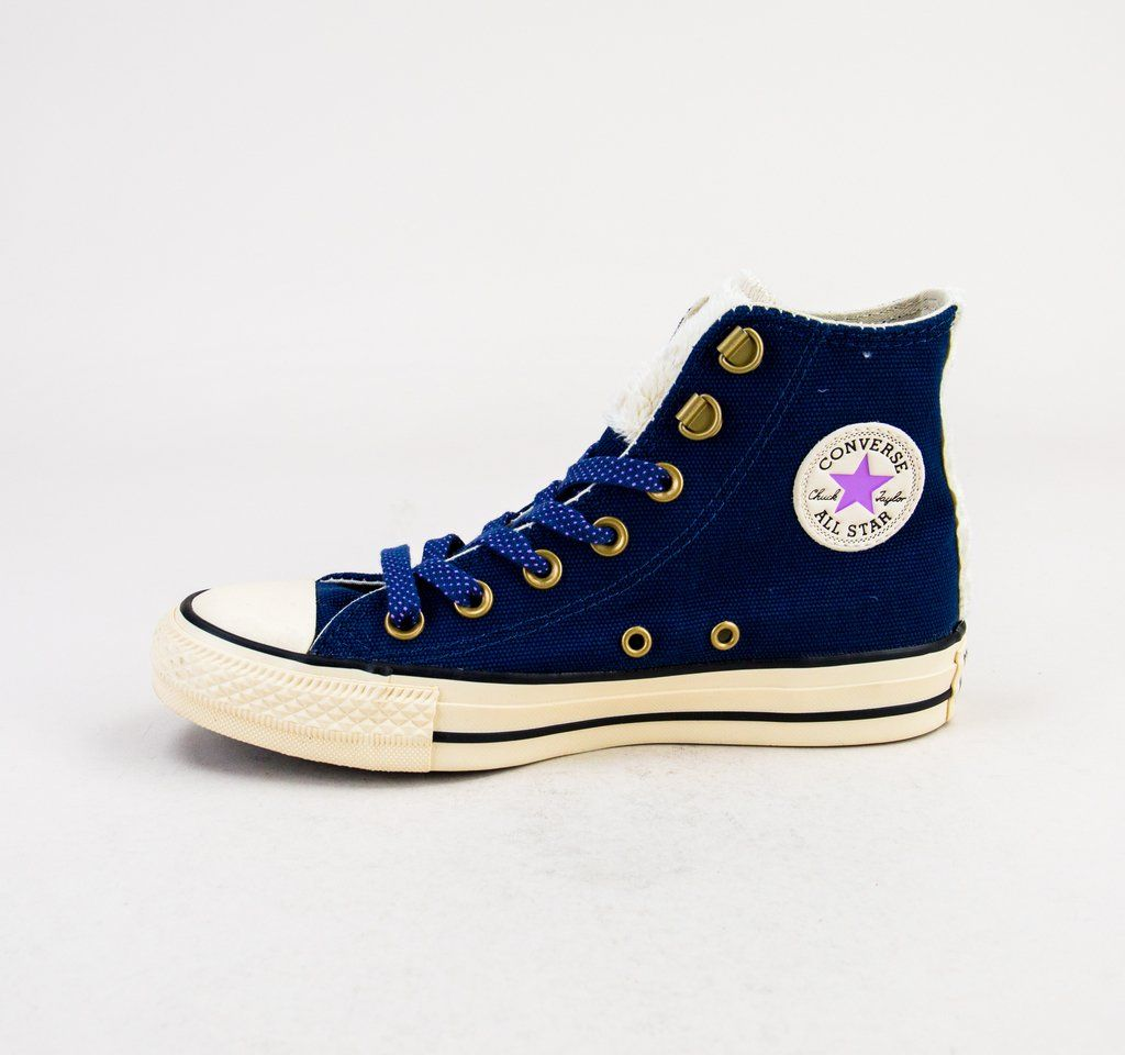 45a533a5ff6df3 Converse 562489C CT AS HI Navy-Natural Ivory Womens Boots ...