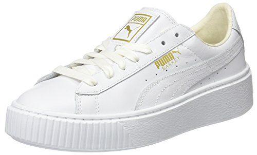 puma damen sneaker platform weiß