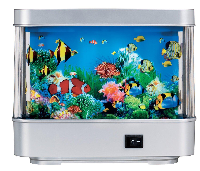 Aquarium Lamp Motion Fish Night Light Aquarium Lamp Aquarium