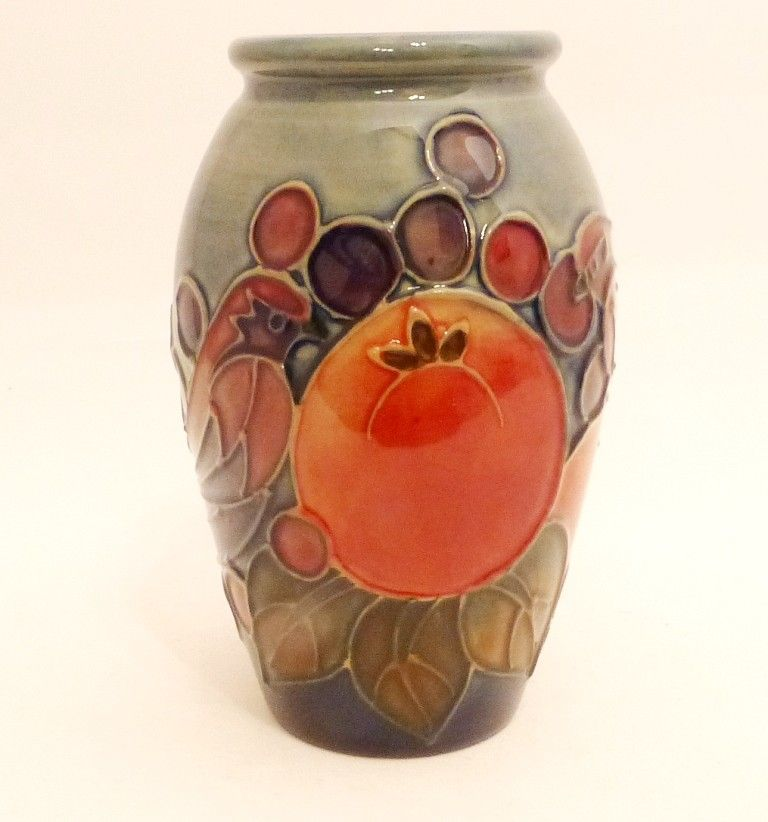 Moorcroft Vase Finches By Sally Tuffin Moorcroft Musings