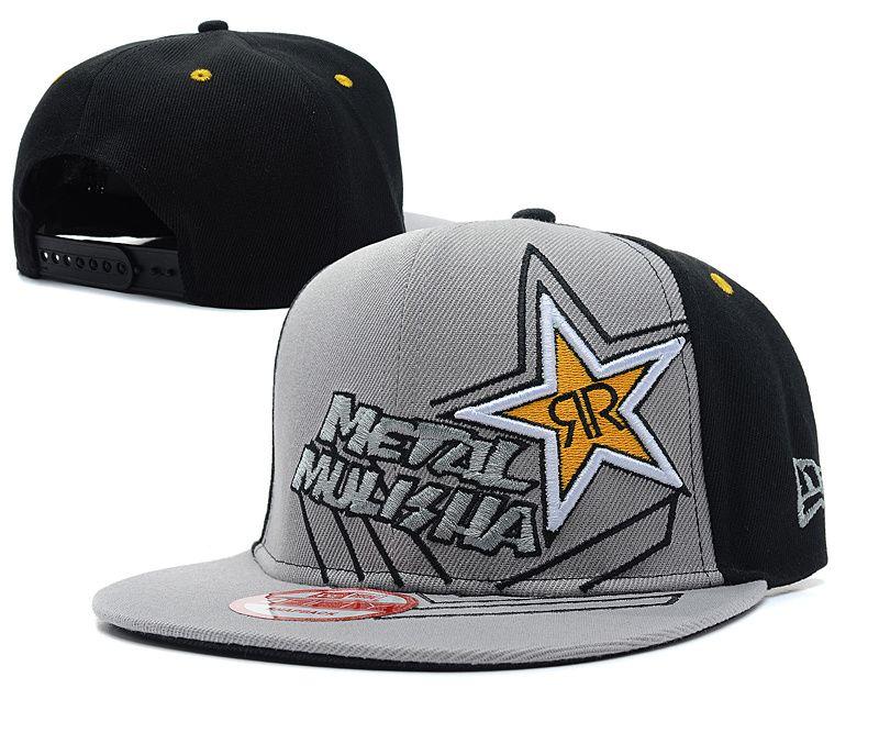 Metal Mulisha Rockstar Snapback Hats 7537! Only  8.90USD  9107ccf05ca