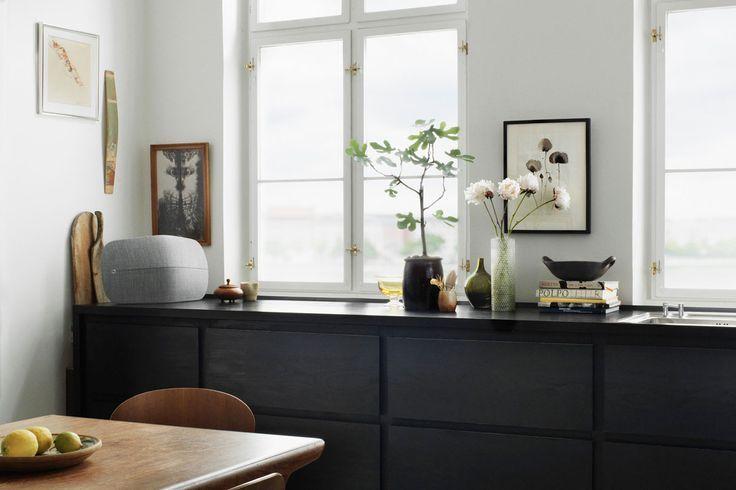 BeoPlay A6 Küche schwarz, Küche und Wohnküche