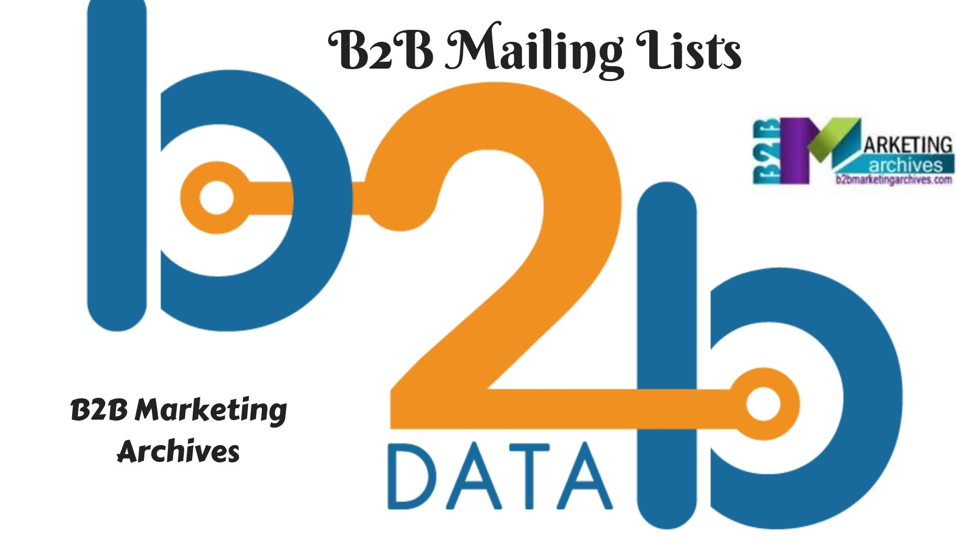 Pin by B2B Marketing Archives on B2B Email Lists | Email