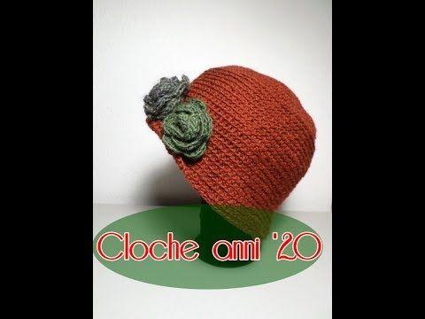 Cloche Anni 20 Alluncinetto Madame Crochet Youtube Blazers