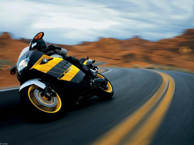 Original Promo Advertisement For Bmw K1200s Motorcycle Gray
