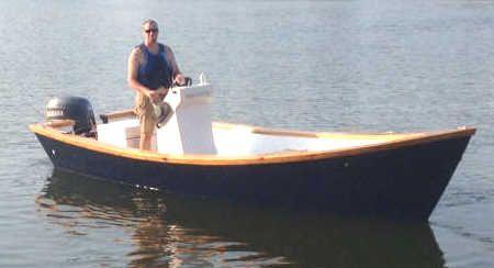 Easy To Build Carolina Dory Wooden Boat Plans | Boat ...