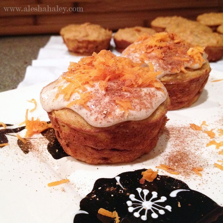 Carrot cake protein cupcakes made with love eatclean