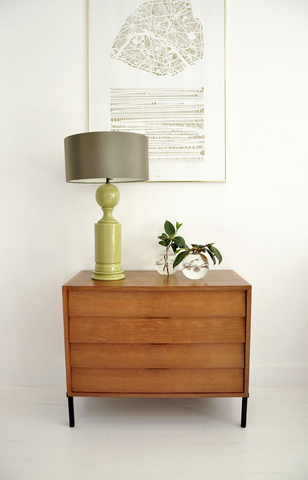 commode jacques hitier mobilor mobilier vintage bel ordinaire meuble vintage - Mobilier Vintage