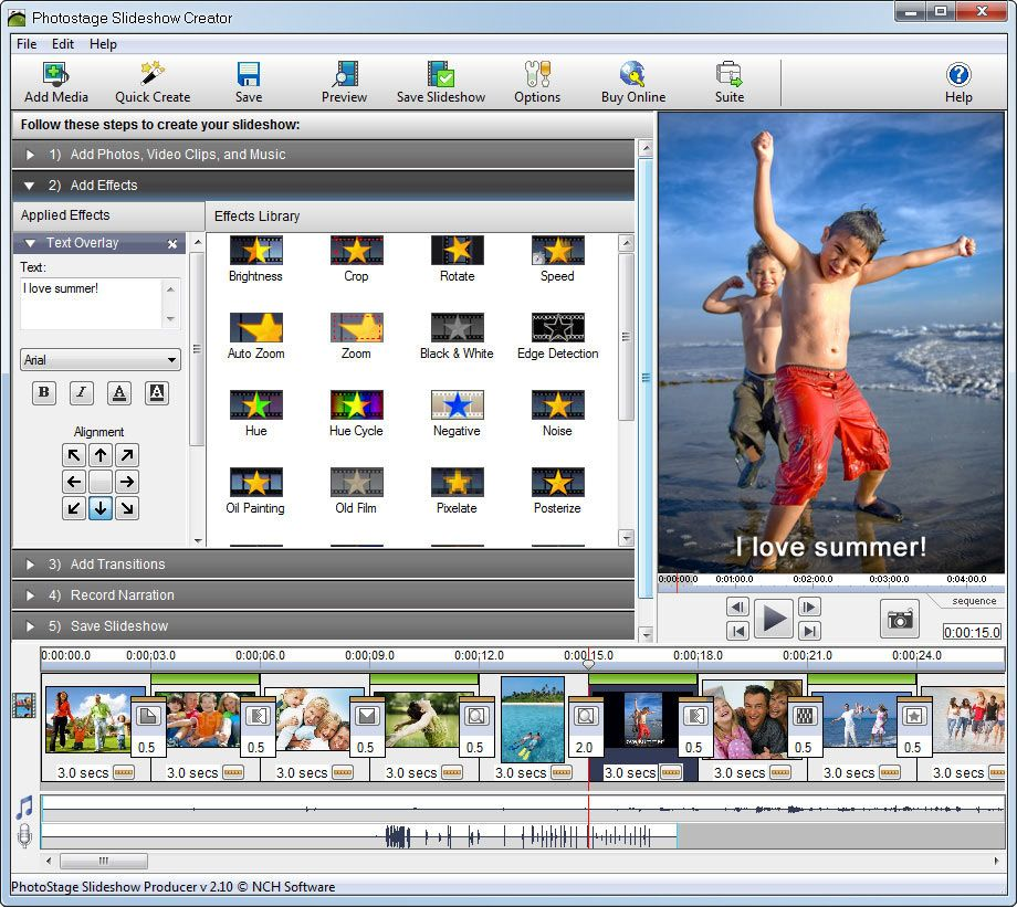 Photostage Slideshow Software Make Video Slideshows From Your Digital Photos Music And More Photo Slideshow Software Photo Slideshow Software