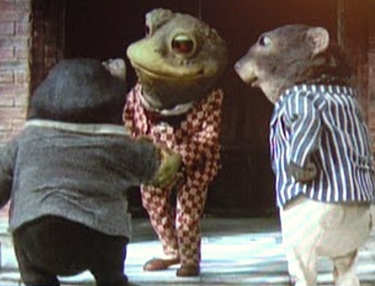 The wind in the willows - stop motion tv series (1983)