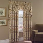 Found it at Wayfair - United Curtain Co. Jewel Panel and Austrian Valance Set in Natural