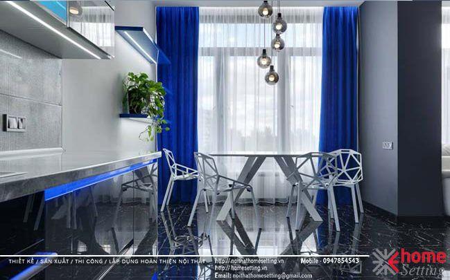 Thiết kế nội thất căn hộ số 06-C1 chung cư Goldsilk Complex