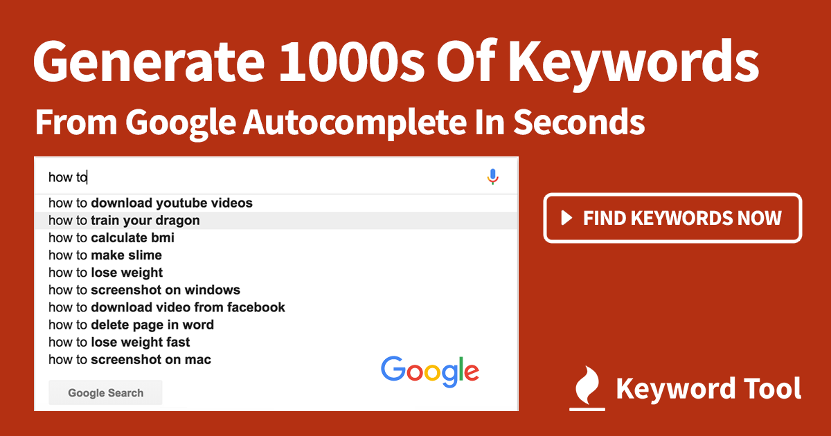 Keyword Tool Is 1 Free Alternative To Google Ads Keyword Planner For Seo Ppc Keyword Research Keyword Planner Search Engine Optimization Seo Keyword Tool