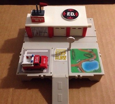 Micro Machines Travel City Fire Department With Images Nostalgic Toys Old School Toys Toy Pedal Cars