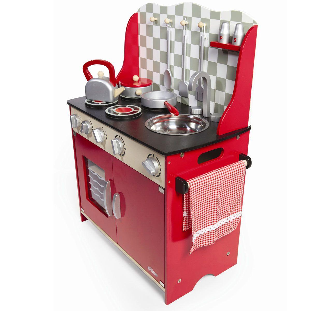 Tidlo Kleine rustikale Küche Spielküche