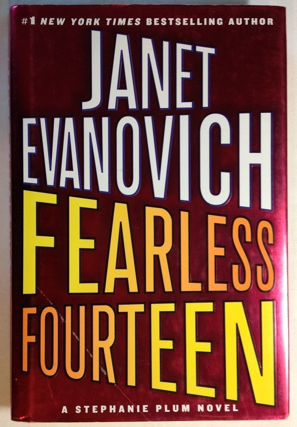 Fearless Four By Janet Evanovich 2008 Hardcover 14 Stephanie Plum Series Book Show