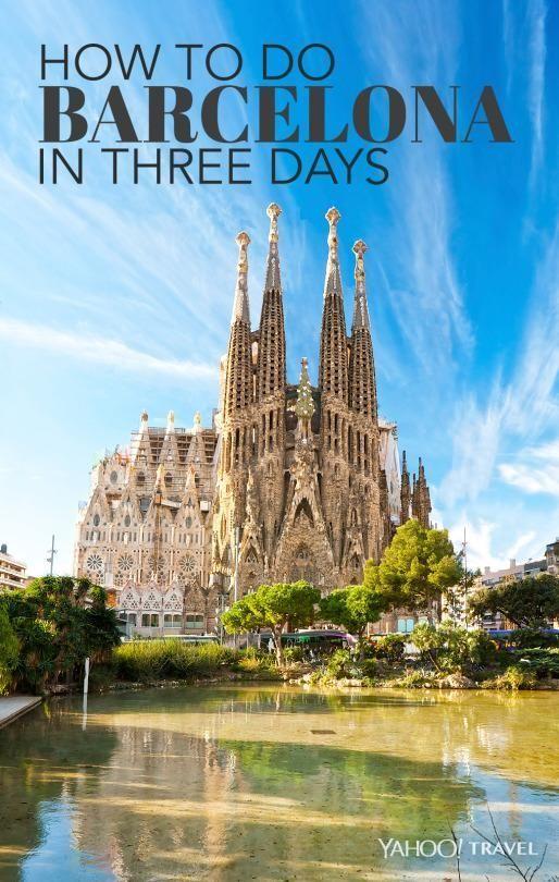 como viajar a Barcelona con solo tres días.