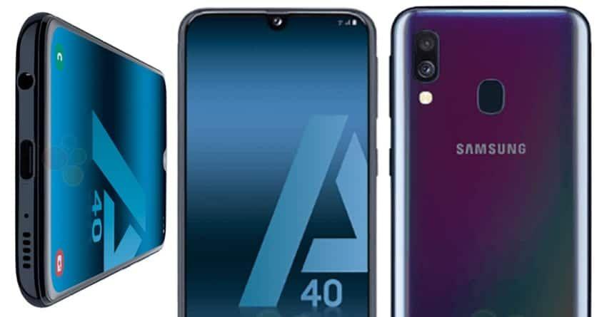تسريبات عن مواصفات هاتف سامسونج جلاكسي A40 وموعد الإعلان عنه Samsung Galaxy Galaxy Samsung Galaxy Phone