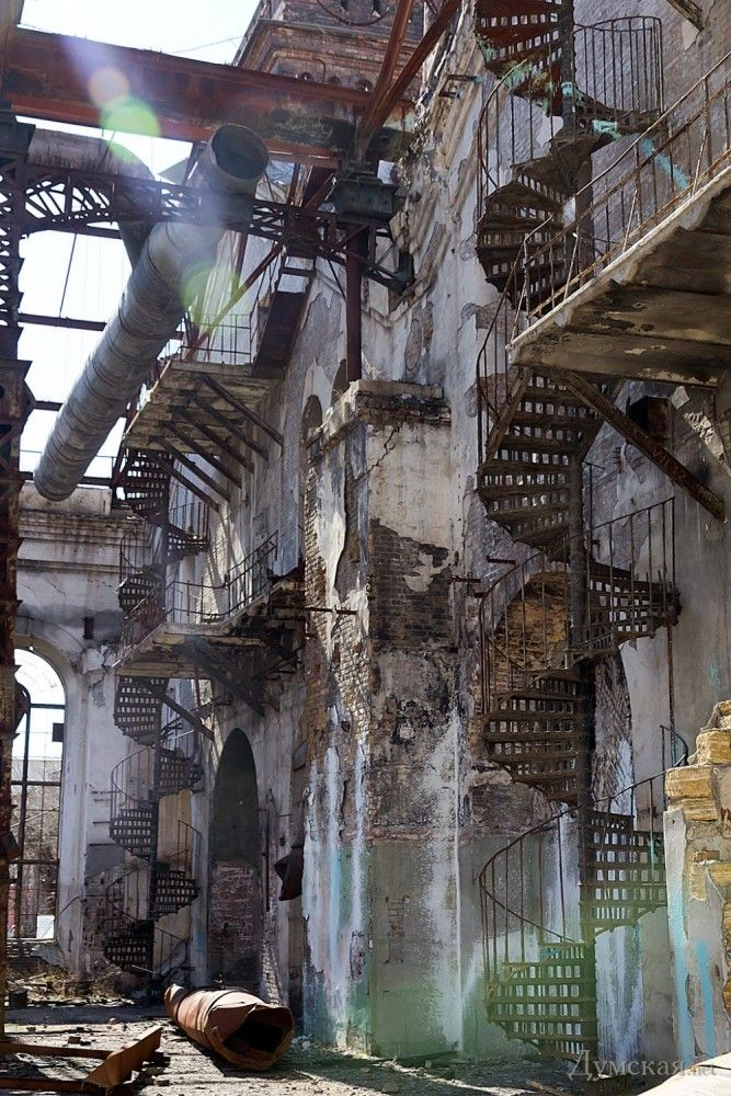 Steampunk Tendencies | Abandoned Factory in Odessa ...  Steampunk Tende...