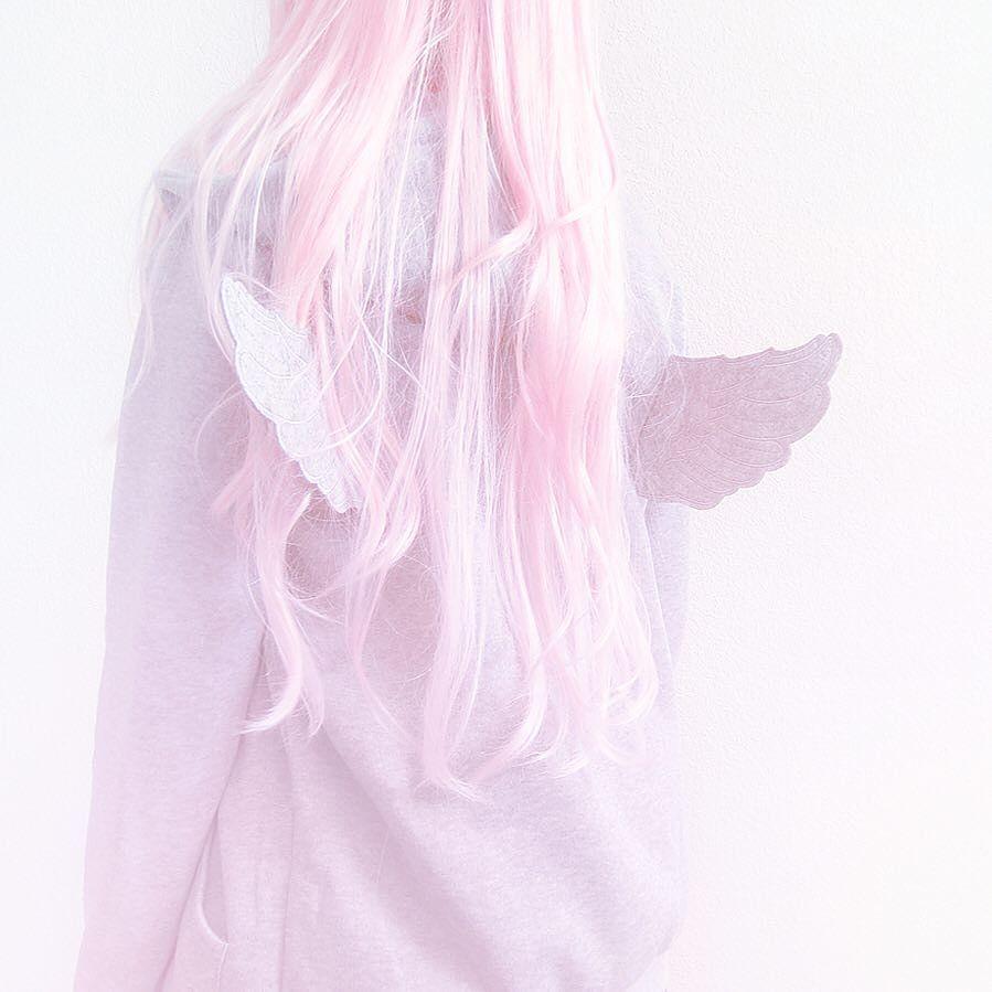 Angel Japanese Aesthetic Pink Kawaii Anime Fashion Grunge Sweatshirt