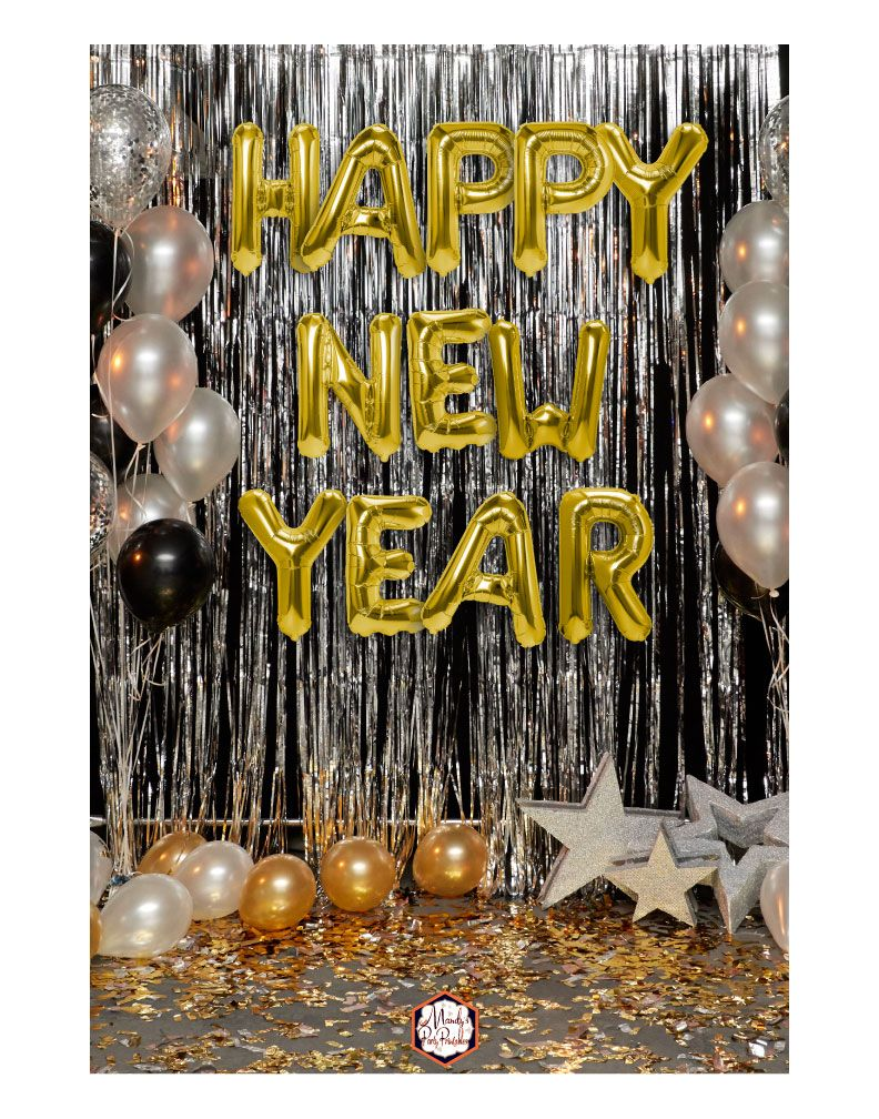 Roaring Twenties New Year Party Printables Mandy S Party Printables New Years Eve Birthday Party New Year S Eve Party Themes New Years Eve Party Ideas Decorations